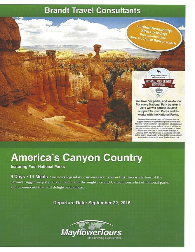 America S Canyon Country Welcome Robson Ranch Road